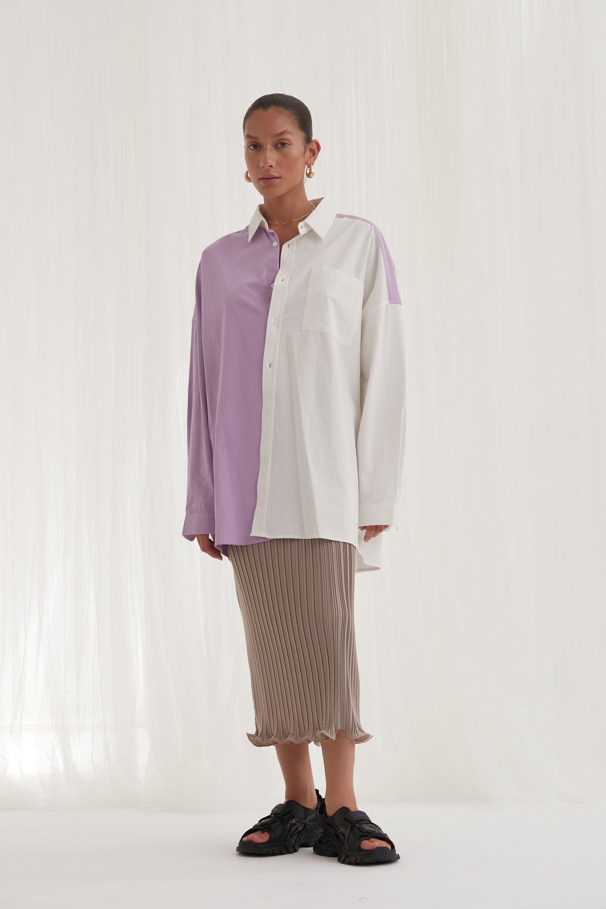 Blanca Angel Shirt // Lilac