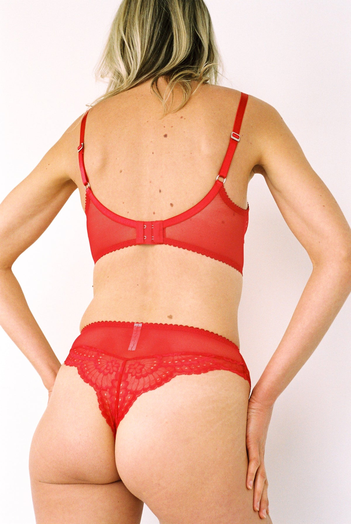 Lonely Delilah High Waist Brief // Scarlett