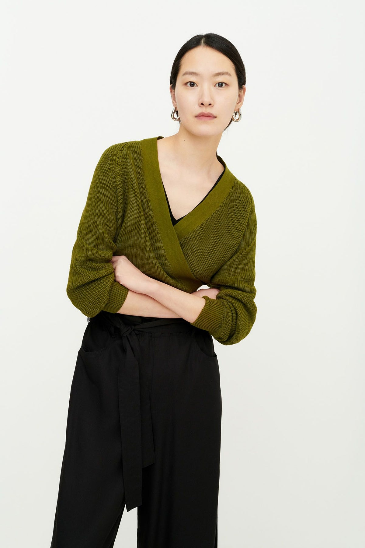 Kowtow Composure Cardigan // Willow