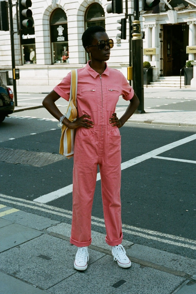 L.F. Markey Danny Boilersuit // Watermelon
