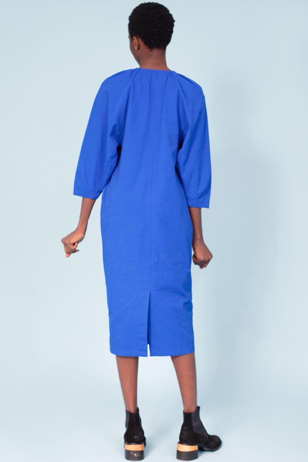 L.F. Markey Mercer Dress // Cobalt