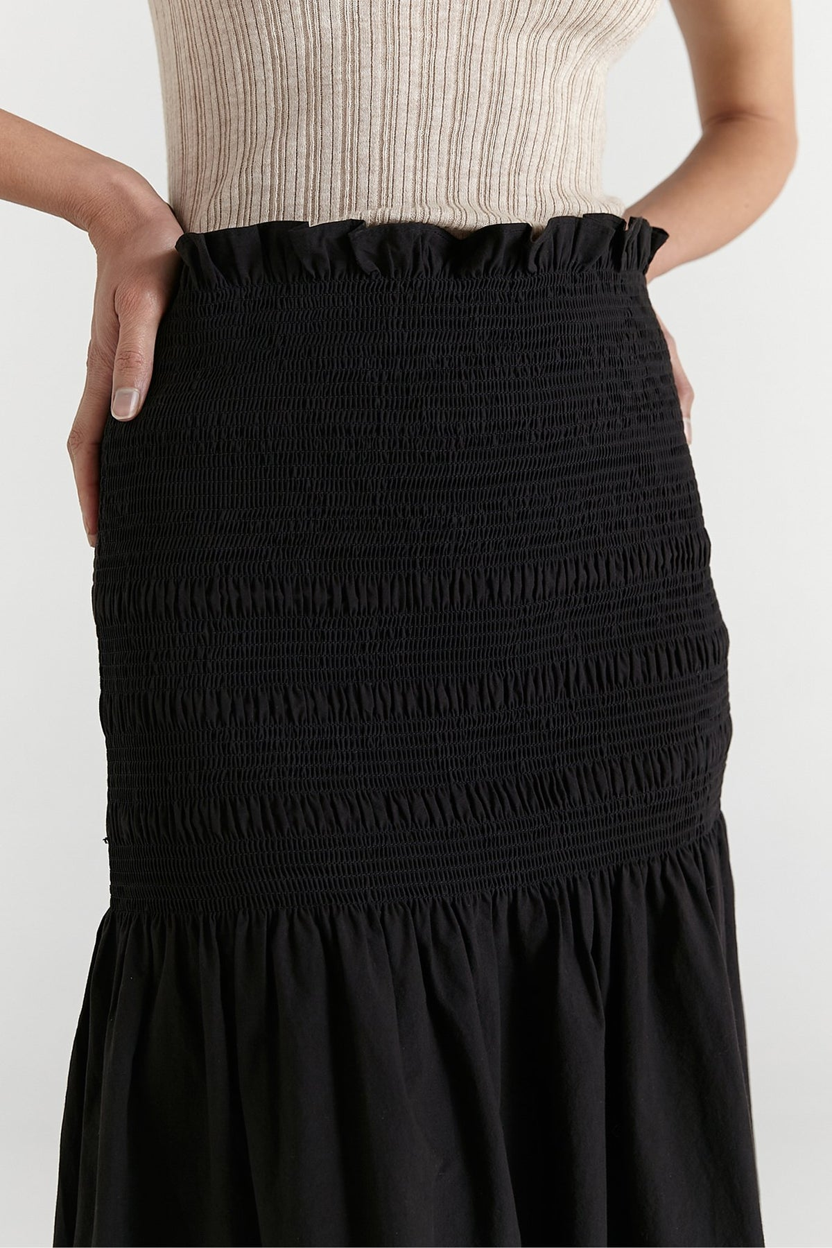 Marle Janelle Skirt // Black