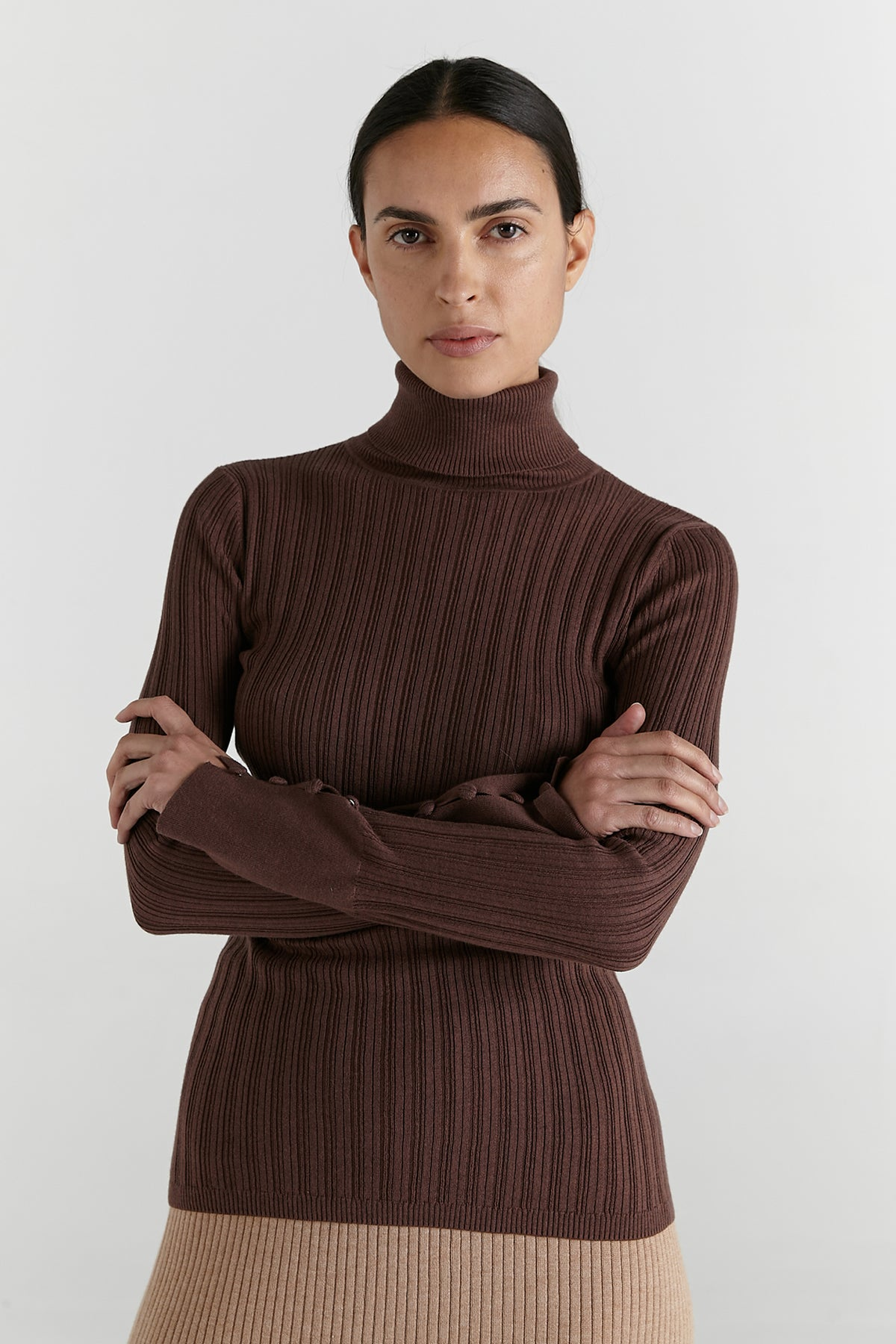 Marle Remi Turtleneck // Dark Mink