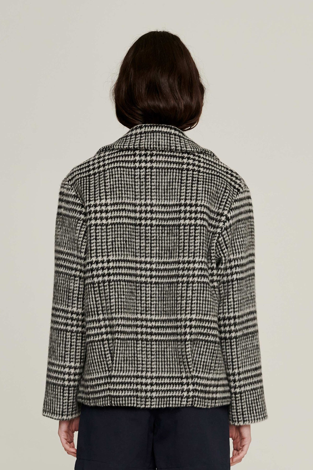 Permanent Vacation Houndstooth Jacket // Mono Check
