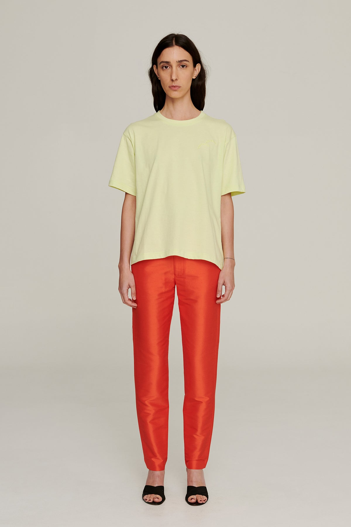 Permanent Vacation Cigarette Trouser // Tangerine