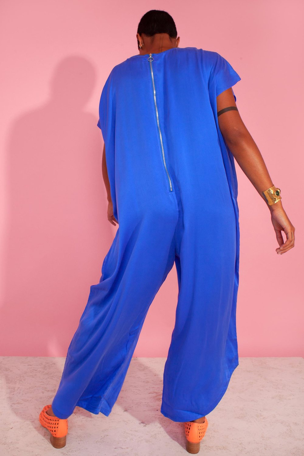 L.F. Markey Avery Jumpsuit // Cobalt