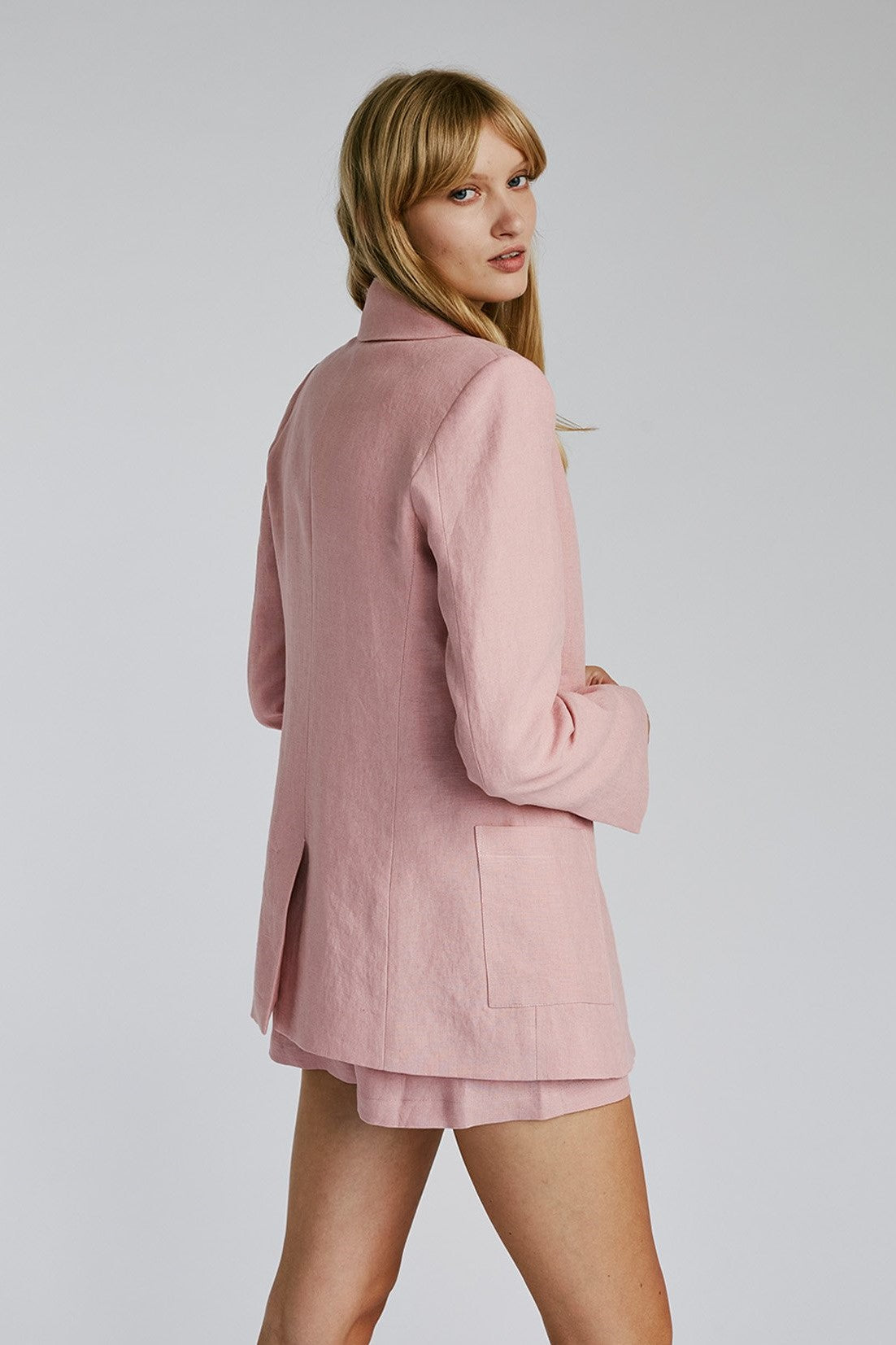 Jillian Boustred Tommy Blazer // Pink