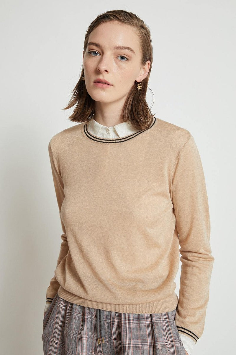Karen Walker Apollo Knit // Oat