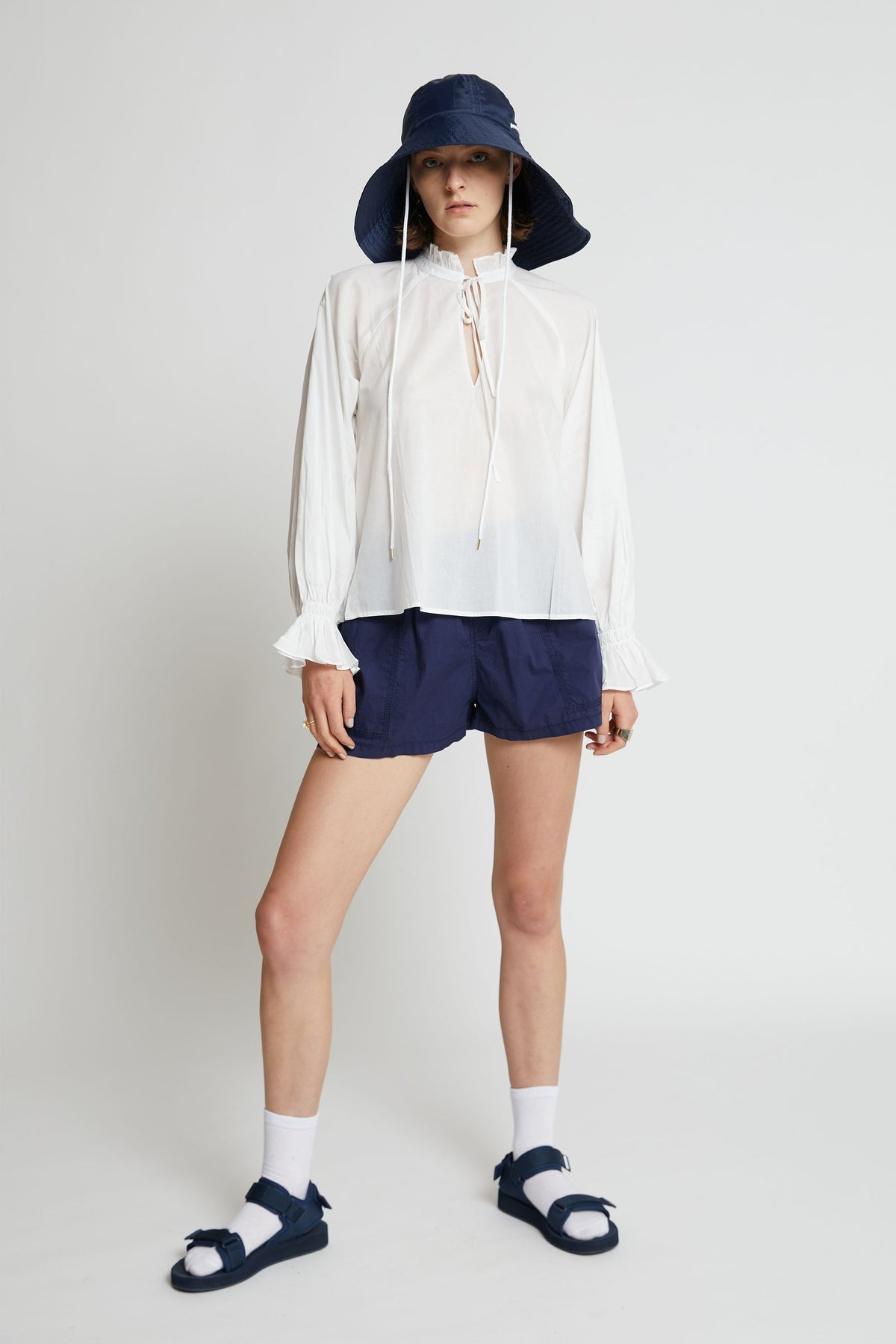 Billow Blouse // Off White