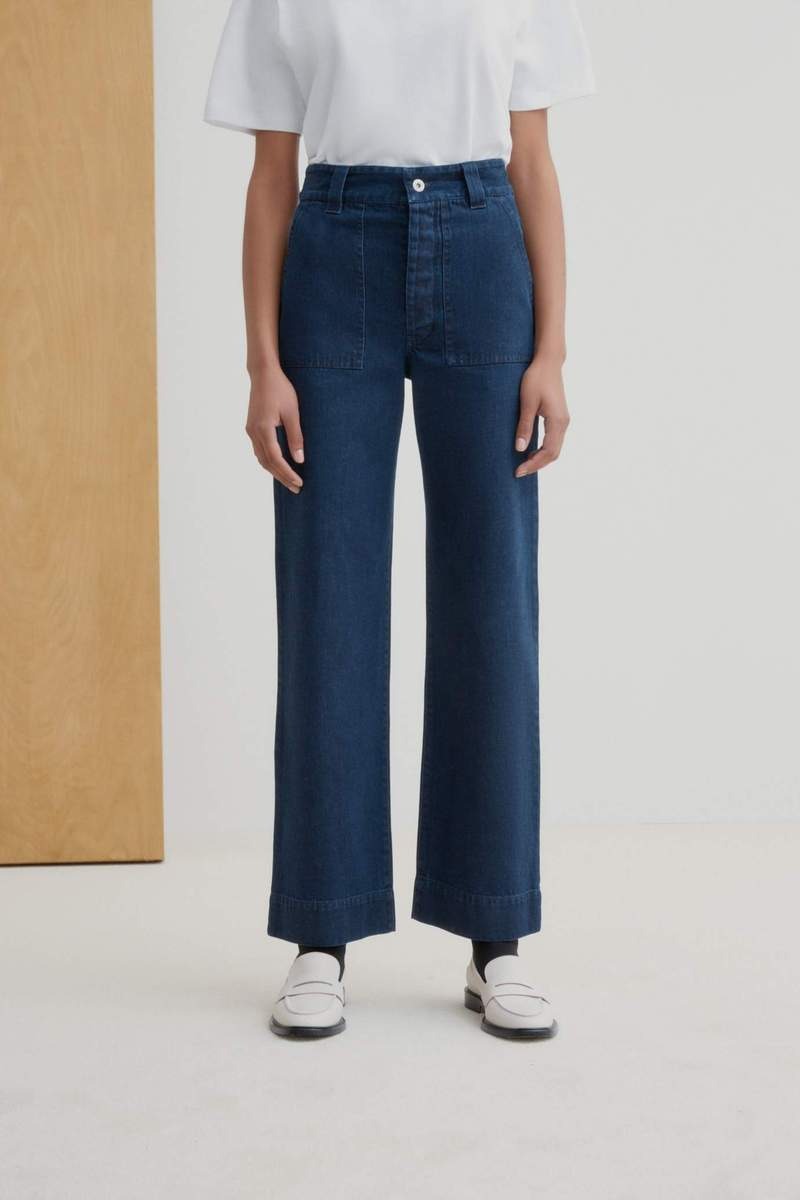 Kowtow Carpenter Pant // Indigo Denim