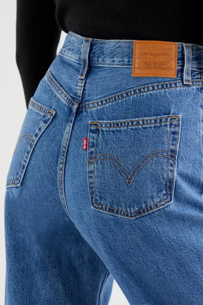 Levis High Loose Taper // Hold My Purse