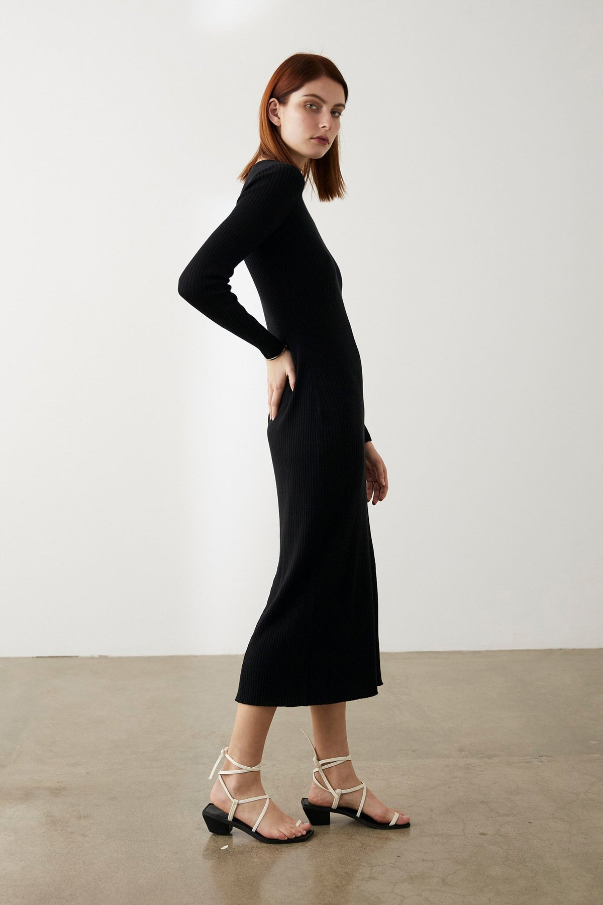Marle Felix Dress // Black