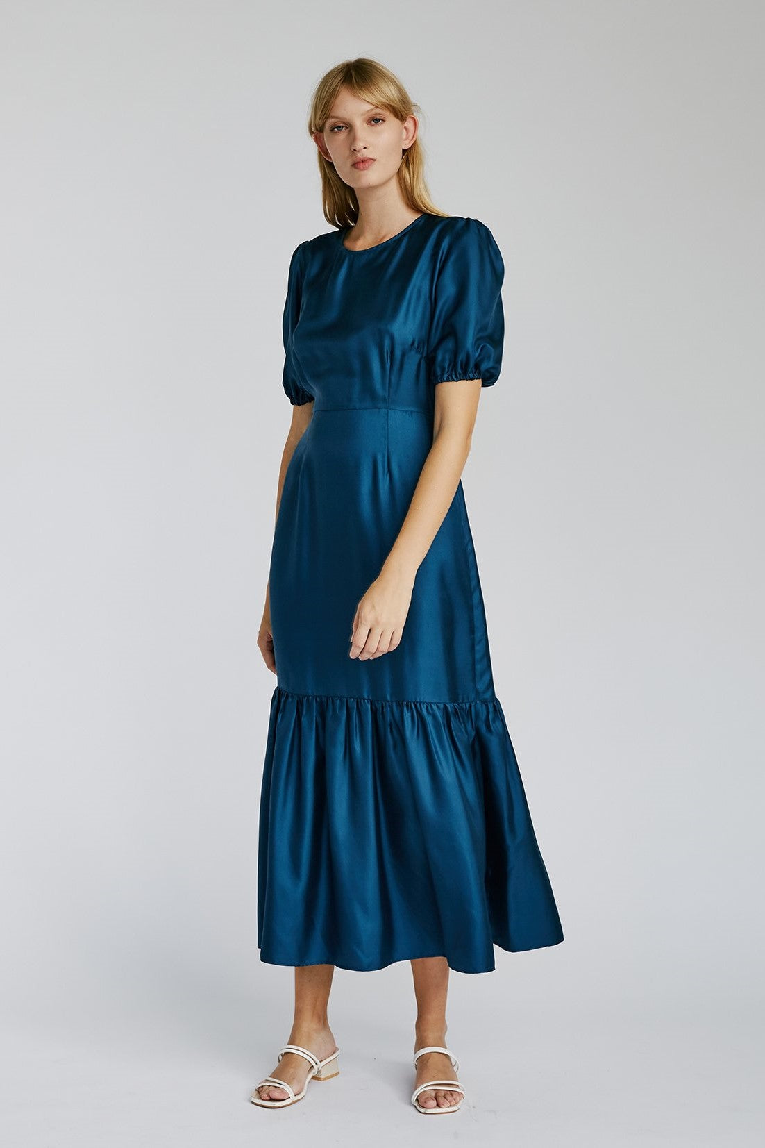 Jillian Boustred Flora Dress // Navy