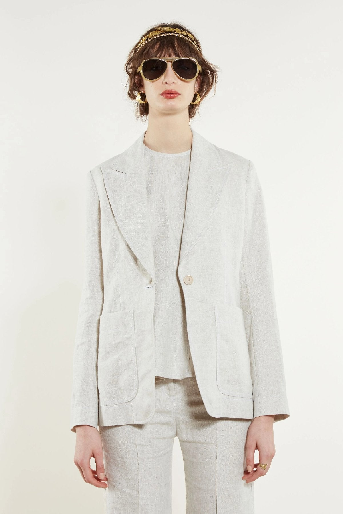 Karen Walker Selene Jacket // Natural