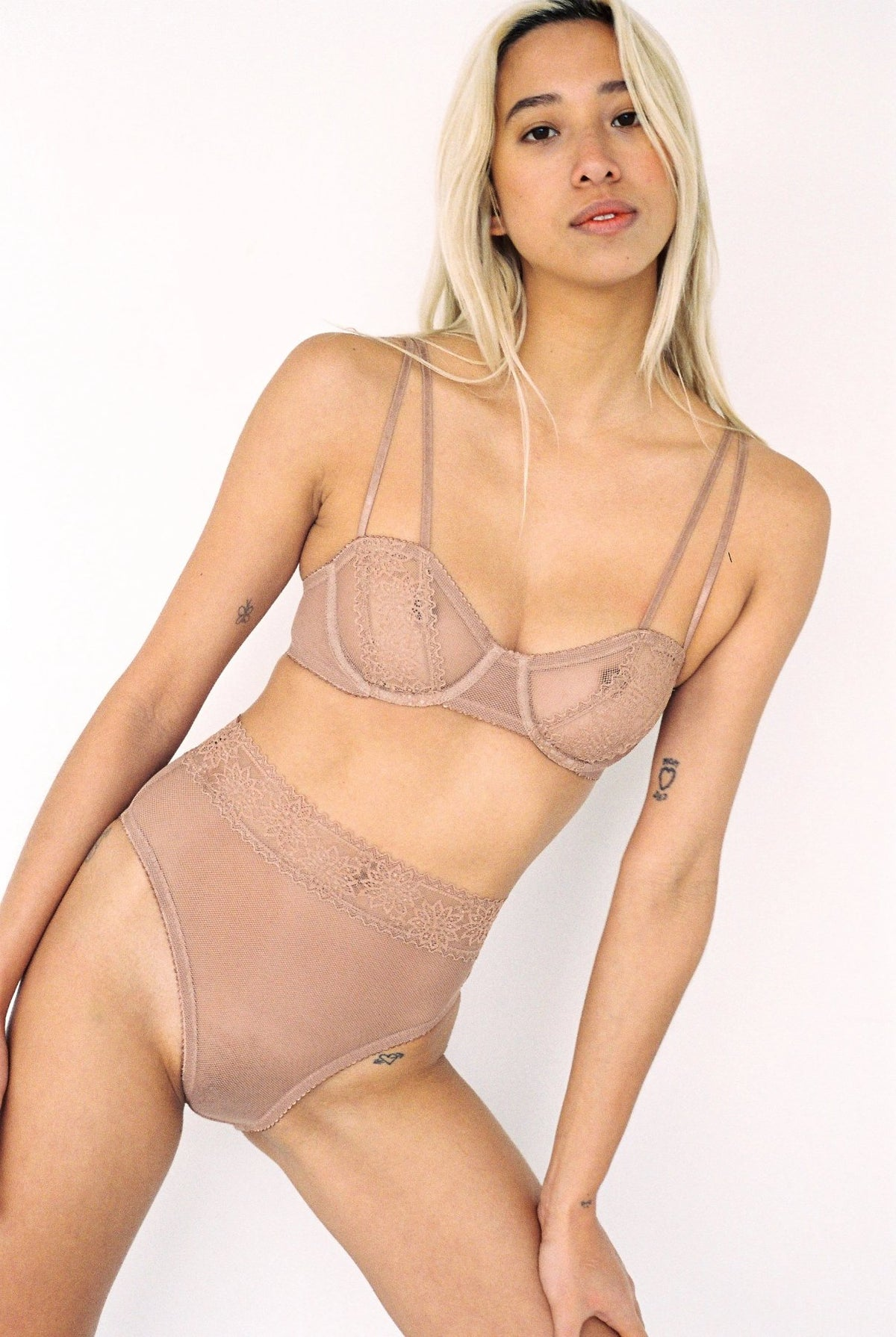 Lonely Rumi Underwire Bra // Taupe