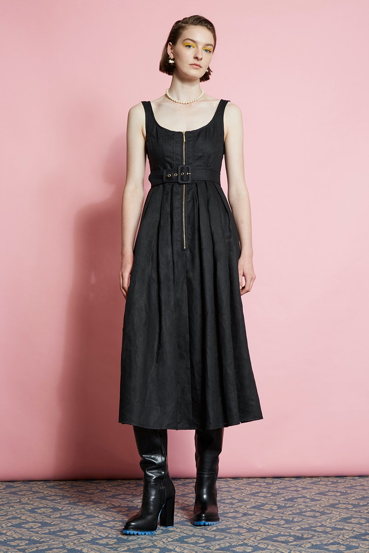 Karen Walker Poppy Dress // Black