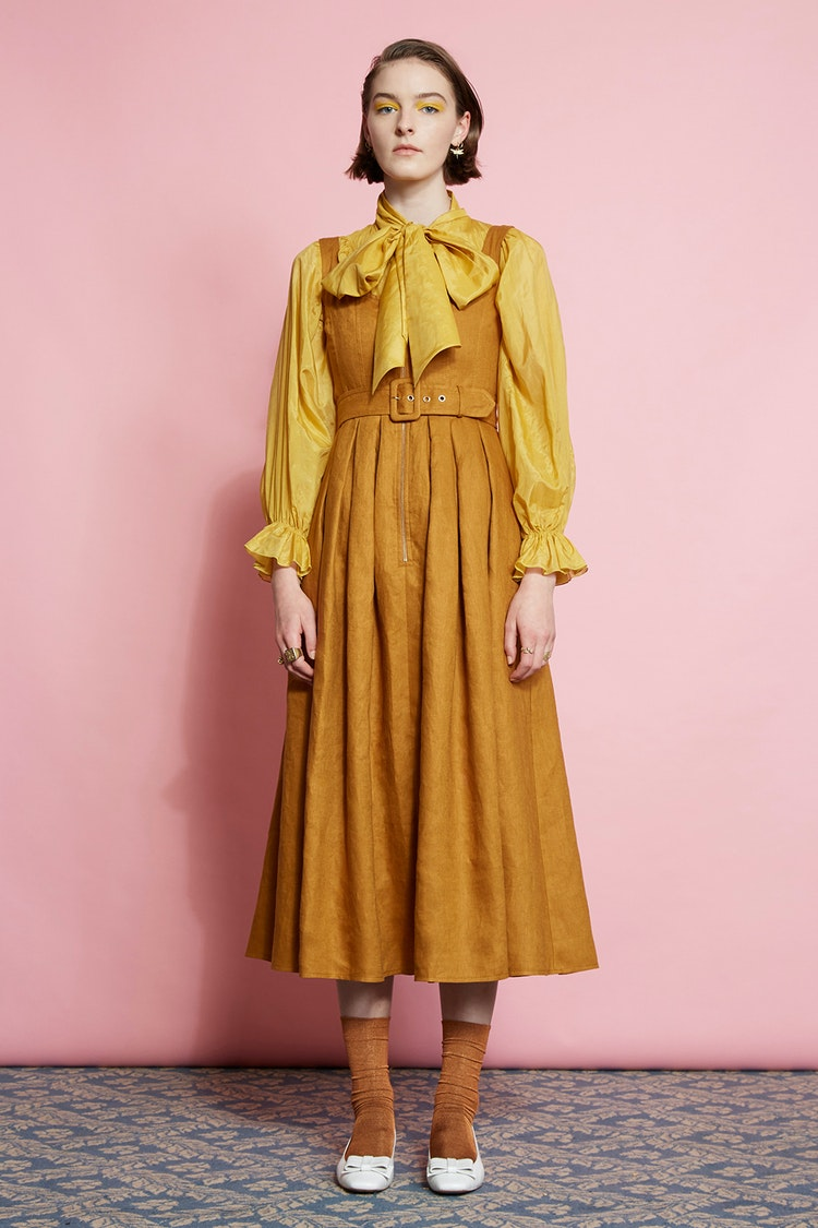 Karen Walker Poppy Dress // Golden Oak