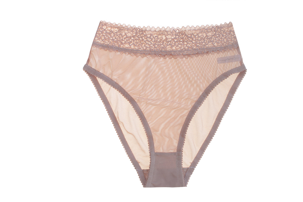 Lonely Rumi High Waist Brief // Taupe