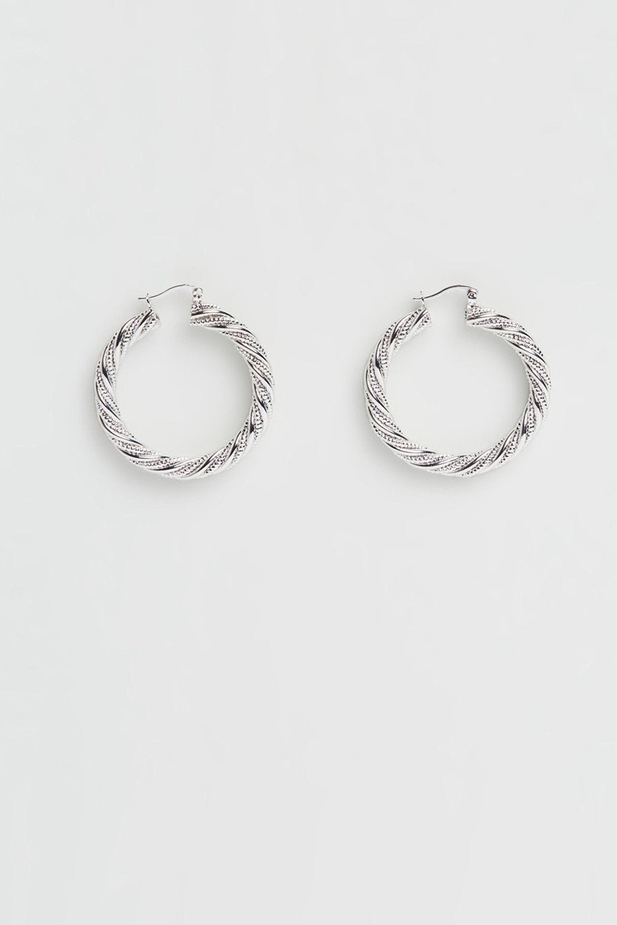 Reliquia Rope Earrings // Silver