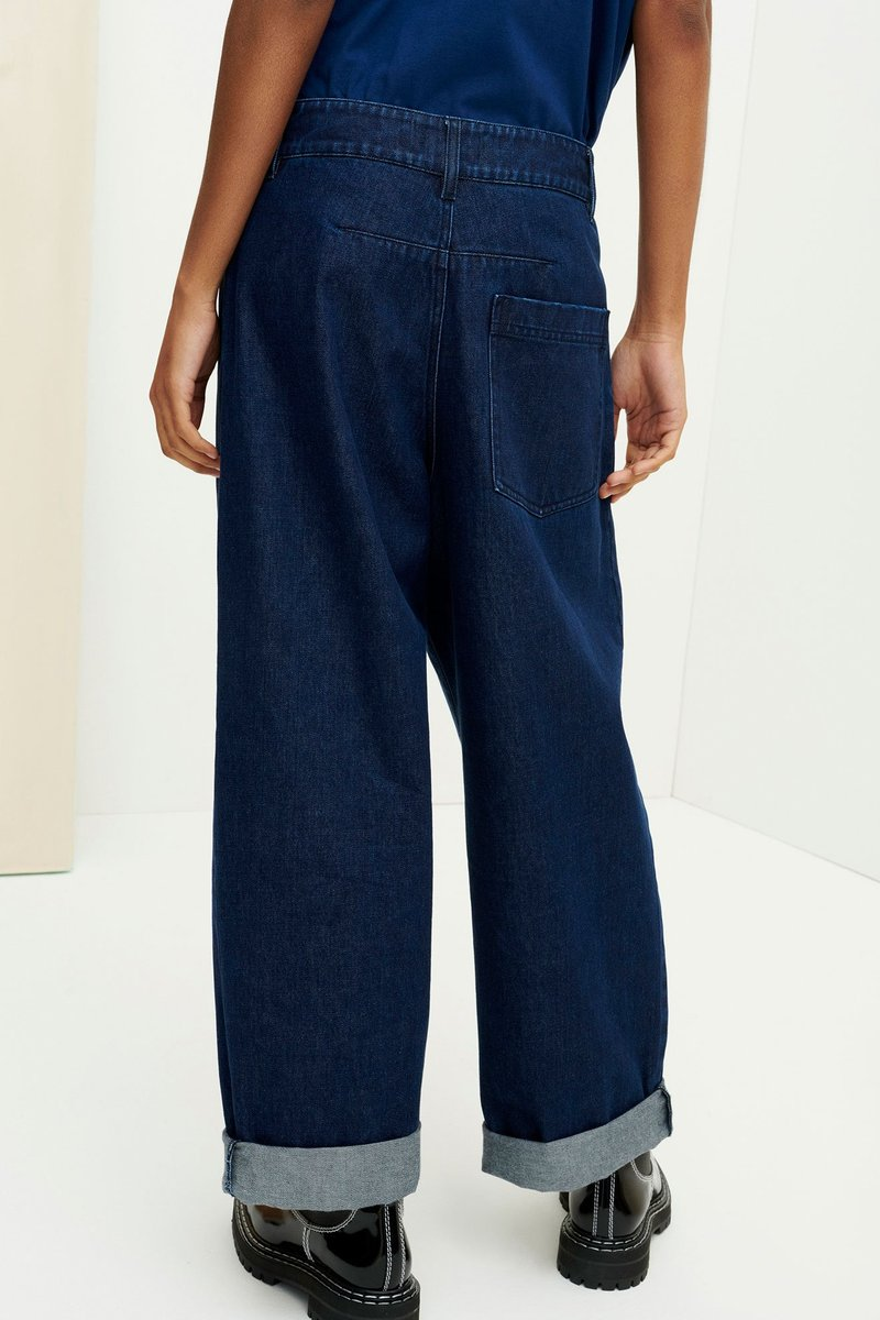 Kowtow Worker Jeans // Indigo Denim
