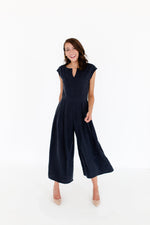 Kara Jumpsuit in Washed Black