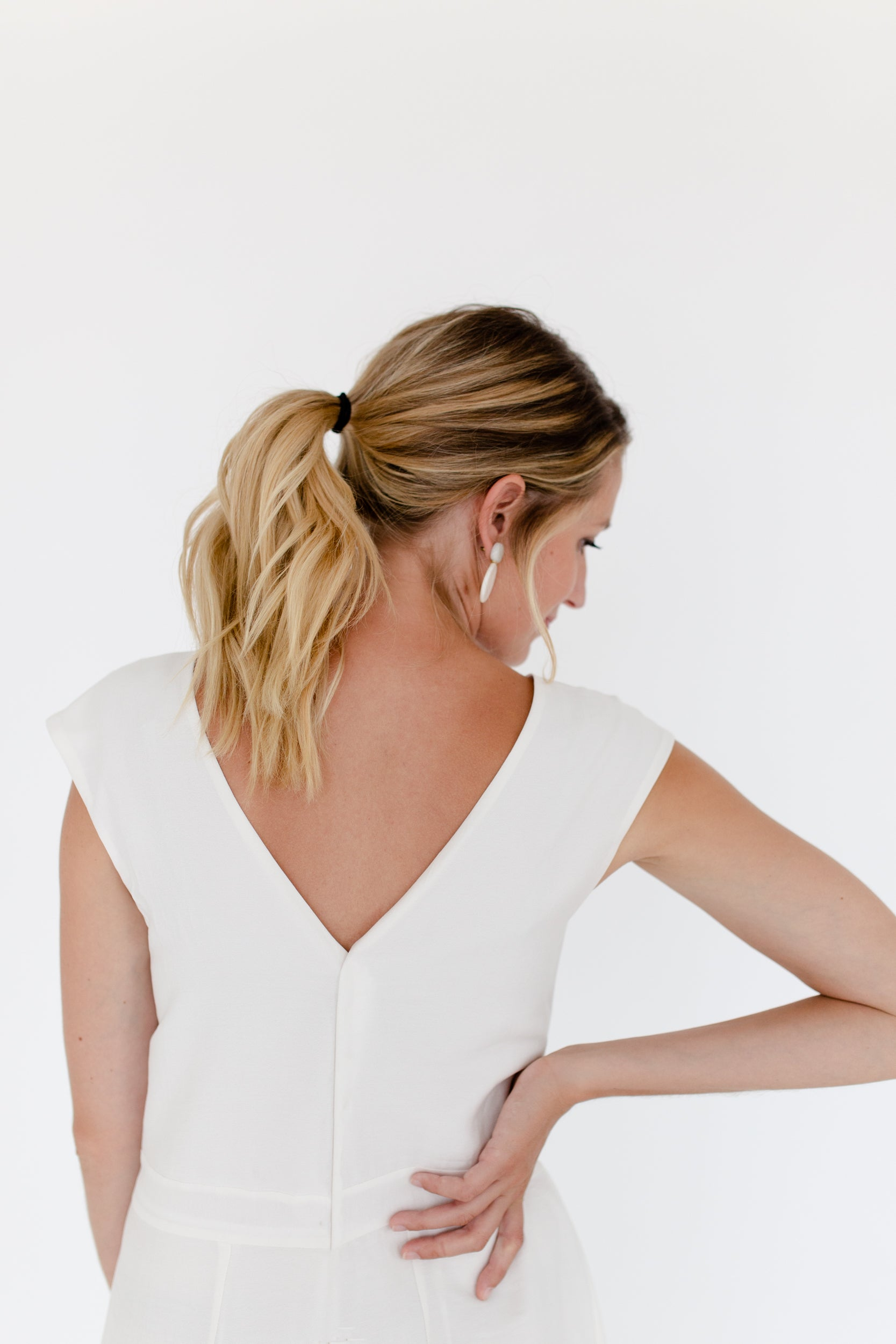 Kara Jumpsuit in White