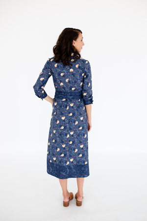 Charity Shirtdress in Heritage Pear