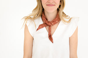 Neck Scarf Chestnut Dune