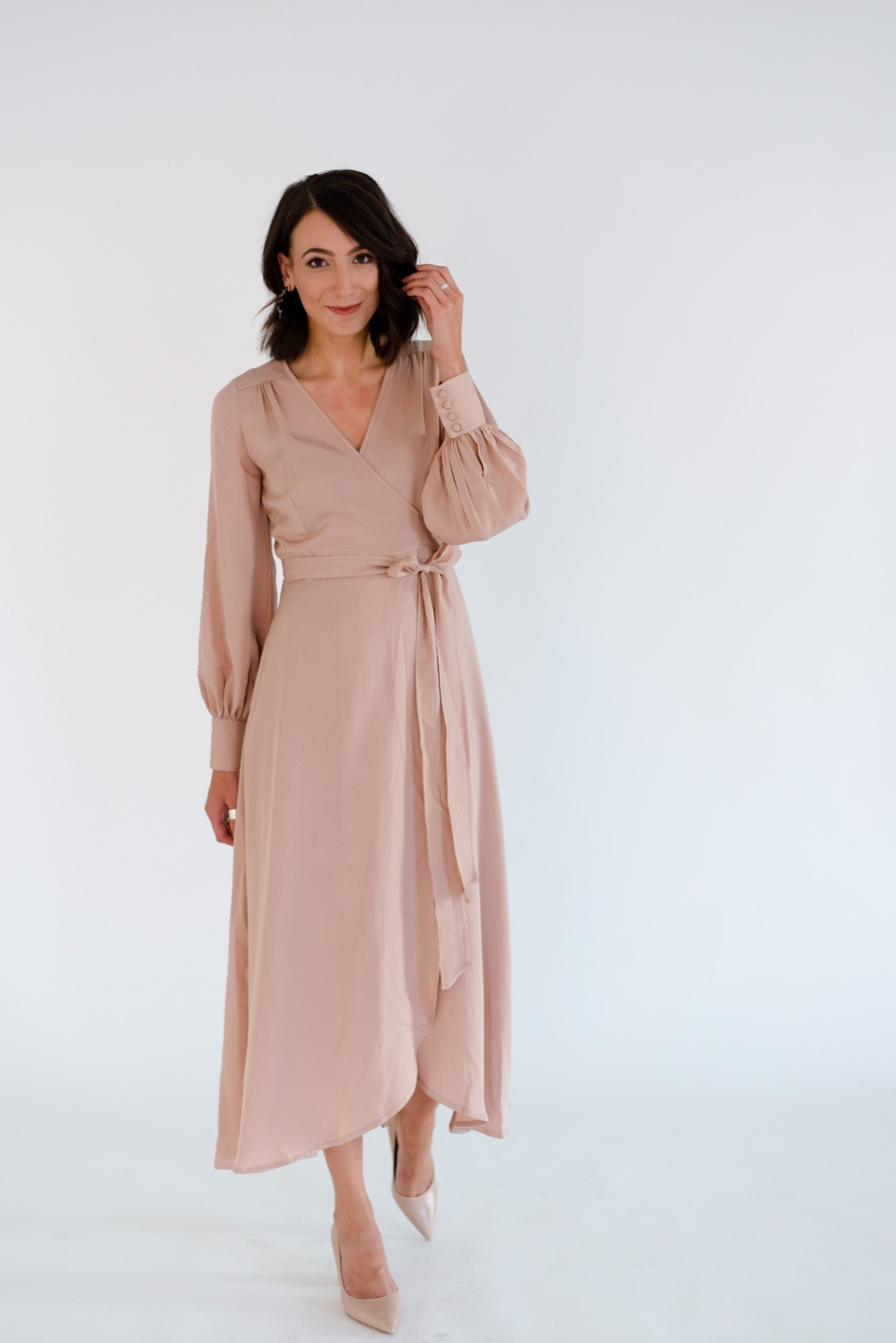 Jessalyn Dress in Fawn