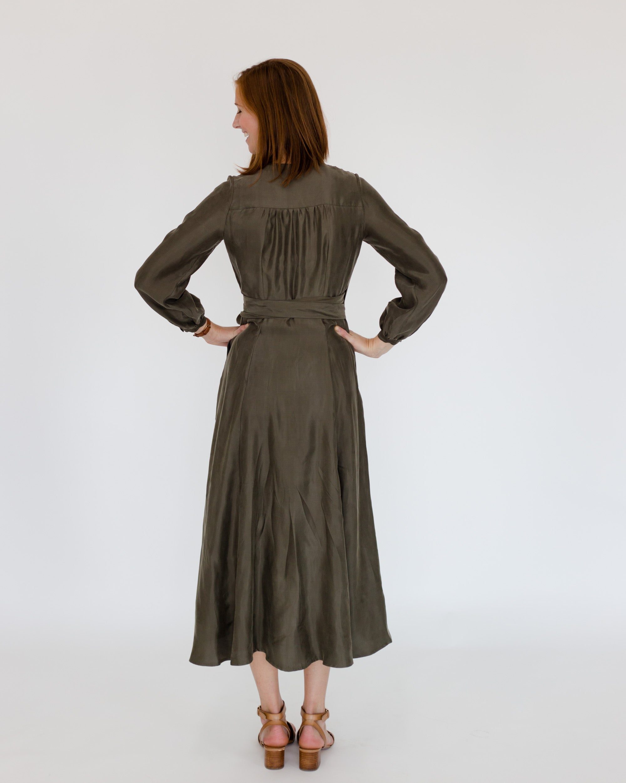 Jessalyn Dress in Olive