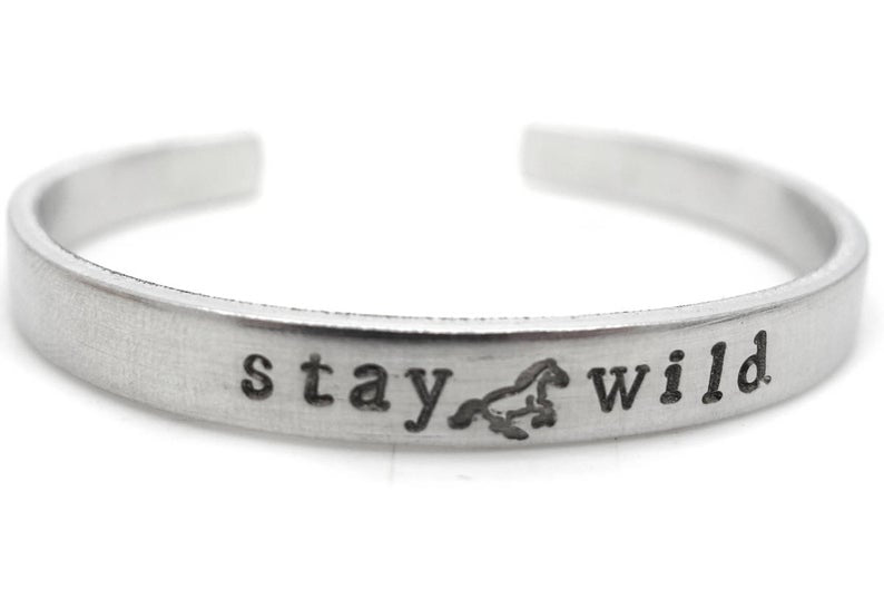 Special Horse Bracelet - Stay Wild - The Perfect Gift & Stocking Stuffer!