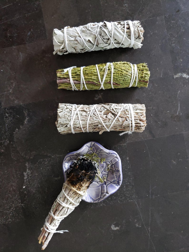 Sage Smudging Sticks - Cleanses the Air!