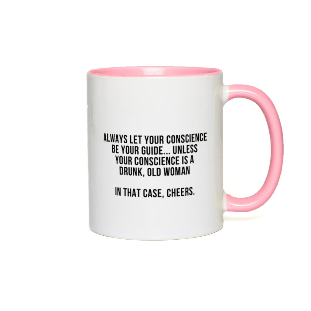 Coffee Mug - DFG Limited Edition December 2020 - 11 oz - Ceramic Mug Accent Mug for Coffee - Designed by Drunk Fairy Godmother