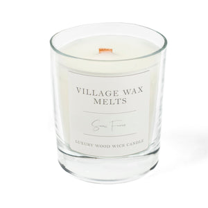 Lime Basil & Mandarin Wood Wick Candle 30cl