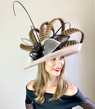 Load image into Gallery viewer, PHEASANT FEATHER CURL HAT