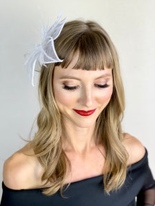 THE AMBER MARIE FLOWER FASCINATOR