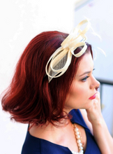 Load image into Gallery viewer, THE LITTLE OLIVE FASCINATOR