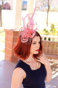 THE ELLIE ROSE FASCINATOR