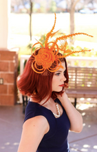 Load image into Gallery viewer, THE ELLIE ROSE FASCINATOR