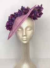 Load image into Gallery viewer, LILAC PURPLE RUN FASCINATOR