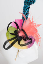Load image into Gallery viewer, BLUE LADY AMHERST FASCINATOR