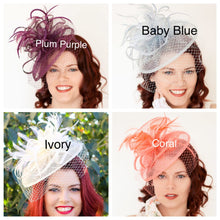 Load image into Gallery viewer, Blush Pink Fascinator