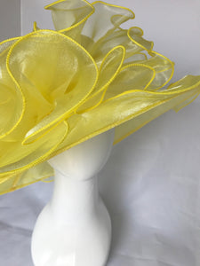 Yellow Kentucky Derby Hat