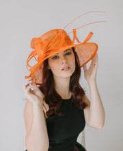 Load image into Gallery viewer, Orange Derby Hat