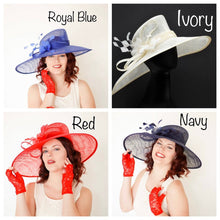 Load image into Gallery viewer, Royal Blue Derby Hat