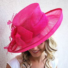 Load image into Gallery viewer, Pink Derby Hat
