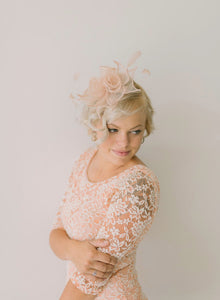 Pastel Pink Fascinator, Tea Party Hat, Church Hat, Kentucky Derby Hat, Fancy Hat, Pink Hat, Tea Party Hat, wedding hat, British Hat