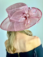 Load image into Gallery viewer, Blush Pink Kentucky Derby Hat