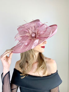 Blush Pink Kentucky Derby Hat