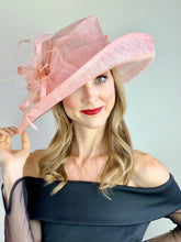 Load image into Gallery viewer, Pastel Pink Kentucky Derby Hat